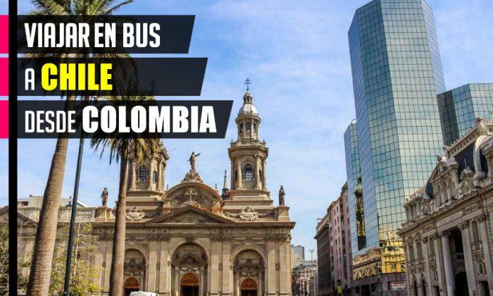 Cómo viajar en bus a Chile desde Colombia