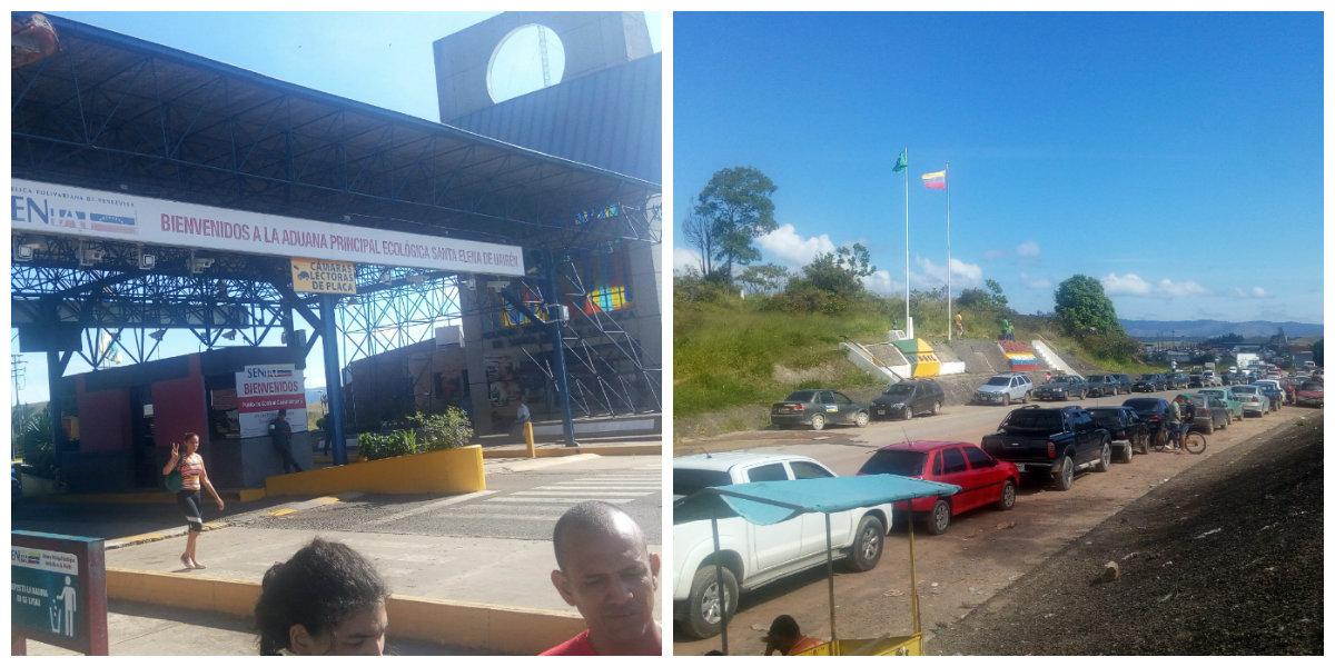 Desde Santa Elena de Uairén hasta Boa vista