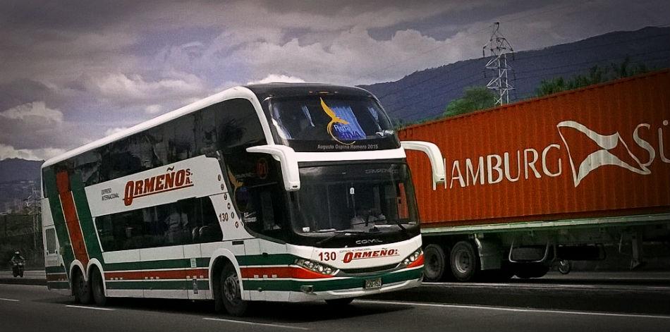 Como viajar a Colombia en Bus