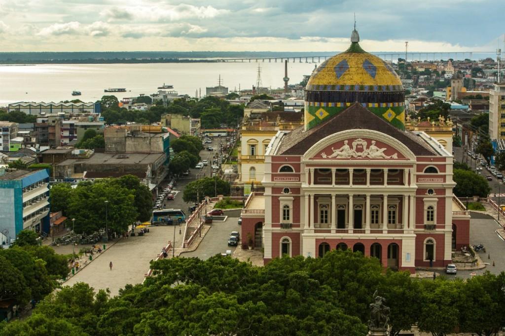 De Puerto Ordaz a Manaos
