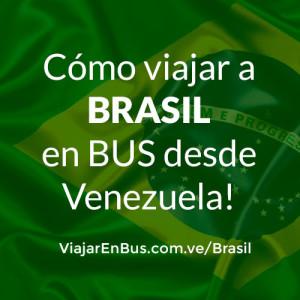 Como viajar en bus a Brasil