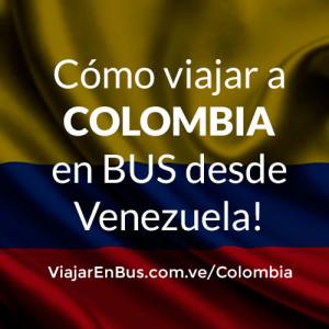 Viajar en bus a Colombia