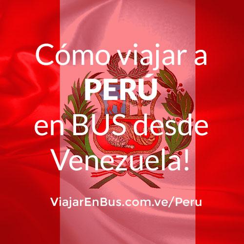 Viajar en bus a Perú desde Venezuela