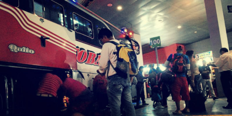Viajar en bus a Ecuador