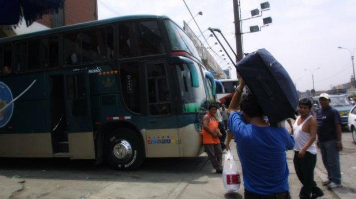 Viajar en bus a Peru