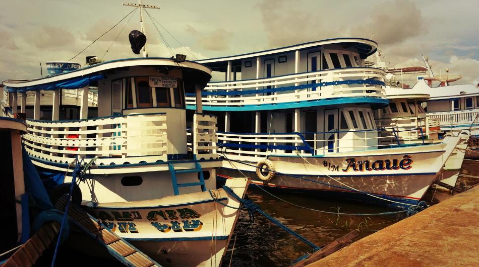 Ferrys de Manaos a Porto Velho