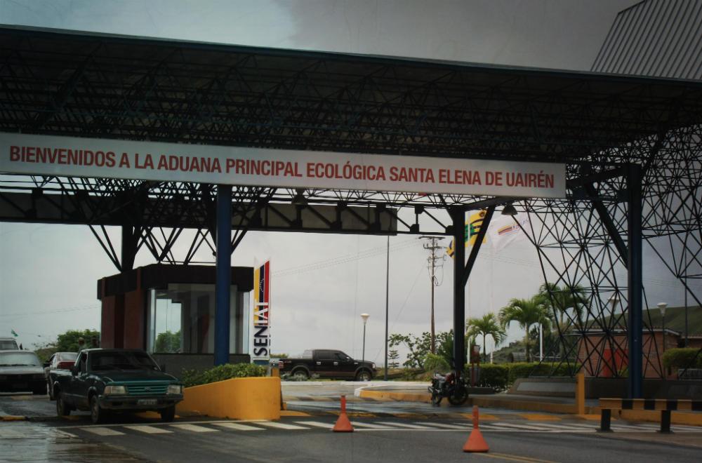 Santa Elena de Uairén Frontera Brasil Venezuela