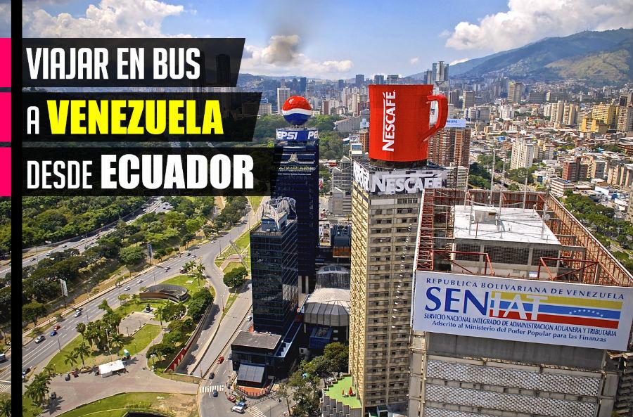 Cómo viajar en bus de Ecuador a Venezuela