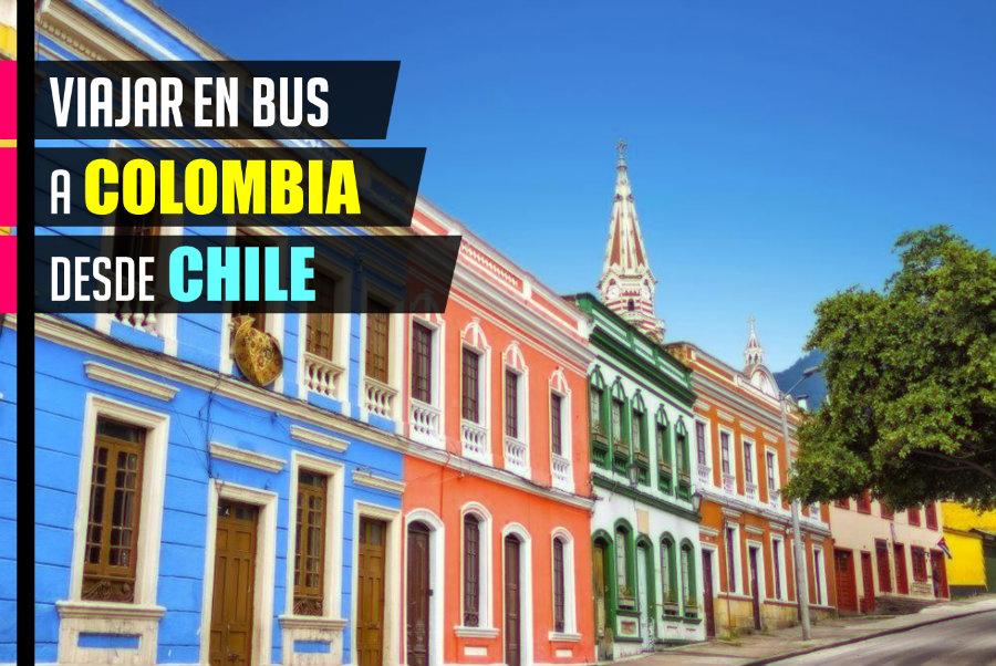 Viajar a Colombia desde Chile en bus
