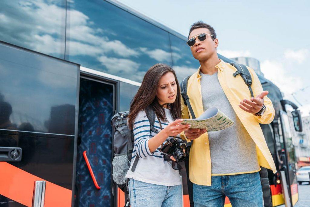 Viajar de México a Estados Unidos en bus